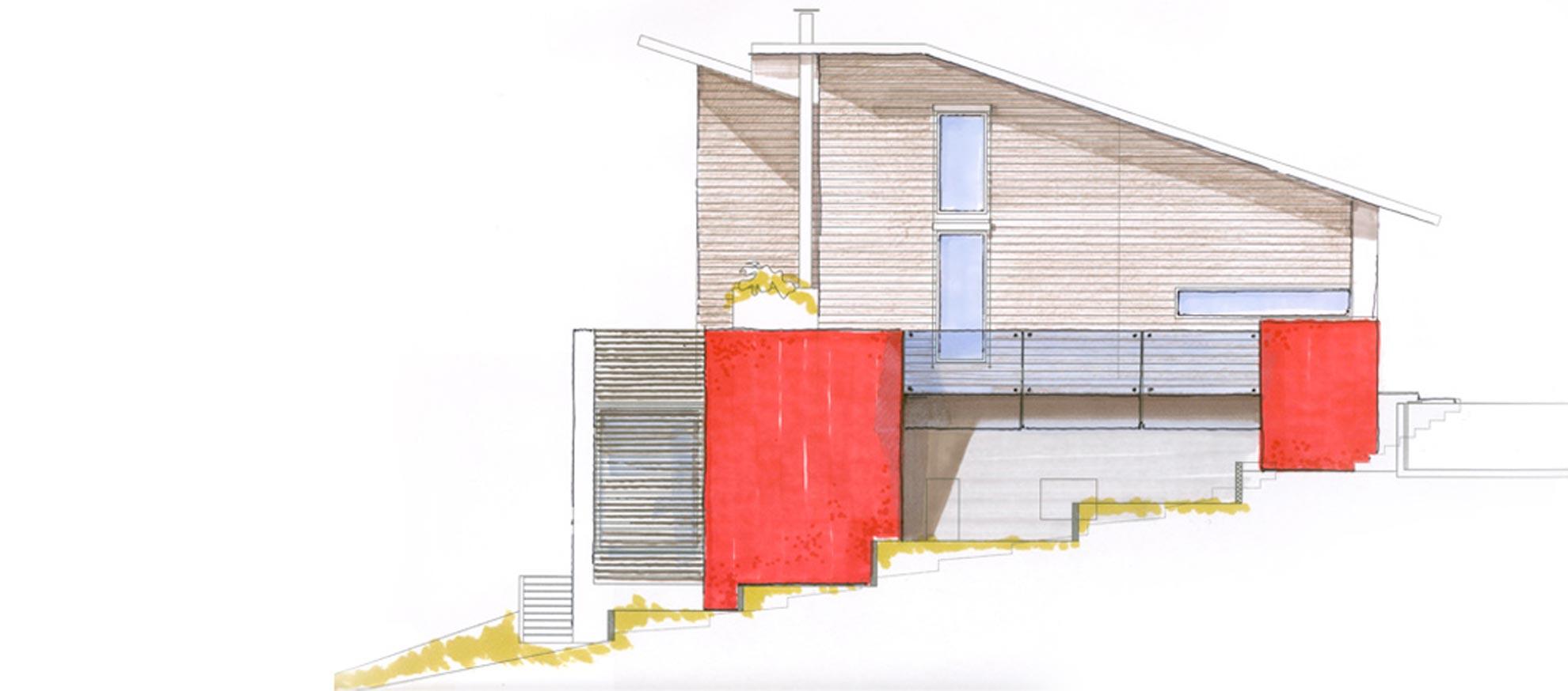 Villa sulla collina torino architetto andrea bella for Studio architettura interni torino