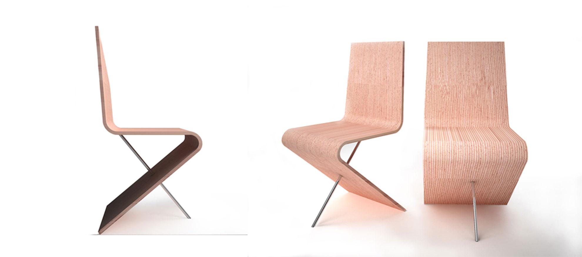 Sedia di design in legno architetto andrea bella for Sedia di design